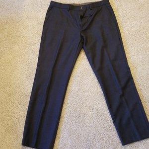 Dark blue J. Crew 100% wool classic dress pants.